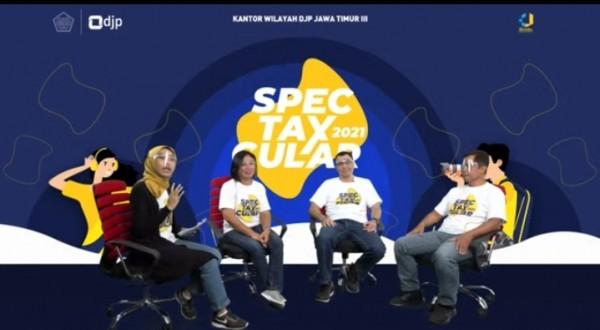 DJP Jatim 3 yang menggelar Spectaxcular 2021(Ist)