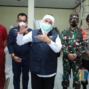 Gubernur Jatim Kembali Perpanjang PPKM Mikro hingga 5 April