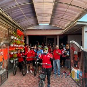 Silaturahmi Dikemas Olahraga, Terobosan DPC PDIP Tulungagung Jaga Kesolidan