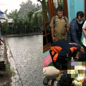 Ditinggal Teman Bermain Buang Air Besar, Balita 2 Tahun di Tulungagung Tewas Tercebur Kolam