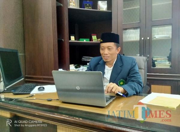 WR 4 Bidang Kerjasama UIN MALIKI Malang, Dr Uril Bahruddin MA (Anggara Sudiongko/MalangTIMES)