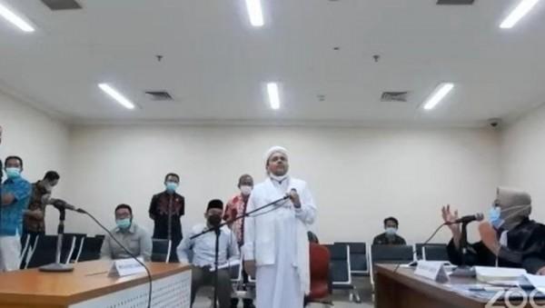 Habib Rizieq (Foto: DETIK.COM)