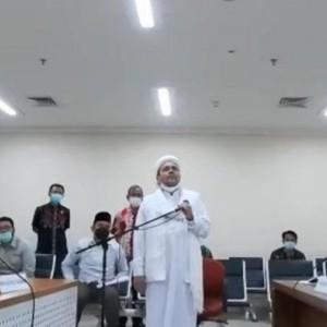 Sidang Eksepsi Habib Rizieq Digelar Hari Ini, Dikawal 1.400 Personel Gabungan