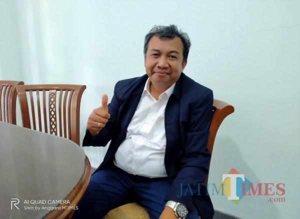 Prof Dr Suhartono Makin, Guru Besar Bidang Ilmu Komputer yang merupakan bakal calon rektor (doc MalangTIMES)