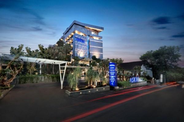 ASTON Inn Batu berlokasi sangat strategis di tengah objek wisata Jatim Park. Tepatnya di Jalan Abdul Gani Atas No 42, Ngaglik, Kota Batu (foto istimewa)