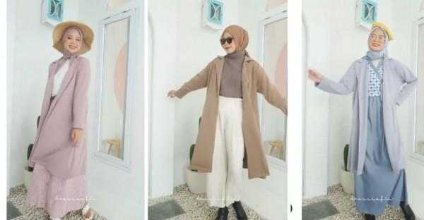 Inspirasi outfit dengan coath ala K-Drama. (Foto: Instagram @dresssofia).