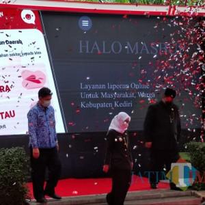 Bertepatan Hari Jadi Kabupaten Kediri 1217 Bupati Launching Aplikasi MasBup
