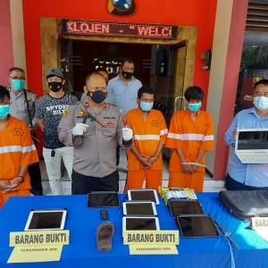 Bobol Toko Elektronik di Malang, Sindikat Asal Pasuruan Diringkus Petugas