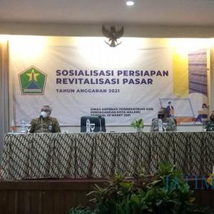 Terus Dorong Pasar di Kota Malang Jadi Pasar SNI, Diskopindag Kembali Revitalisasi 3 Pasar