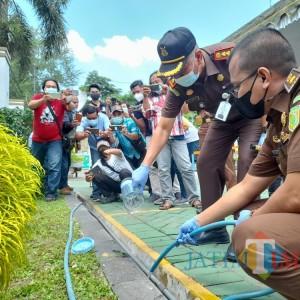Ratusan Gram Sabu dan Puluhan Ribu Pil Dobel L Dimusnahkan oleh Kejari Tulungagung