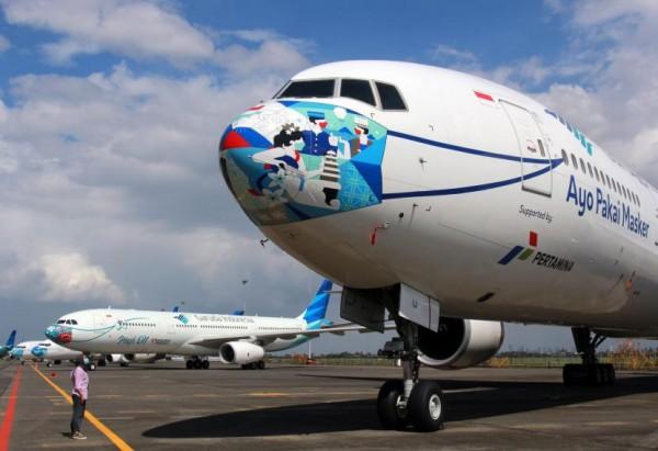 Pesawat Garuda Indonesia (Foto : Internet)