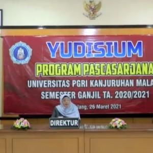 Unikama Gelar Yudisium Online Perdana Usai Berganti Nama, 20 Mahasiswa Resmi Sandang Gelar S2