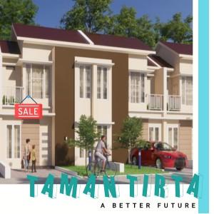 Rumah 2 Lantai di Taman Tirta Hanya Rp 400 Juta, Siap Serah Terima Tahun Ini