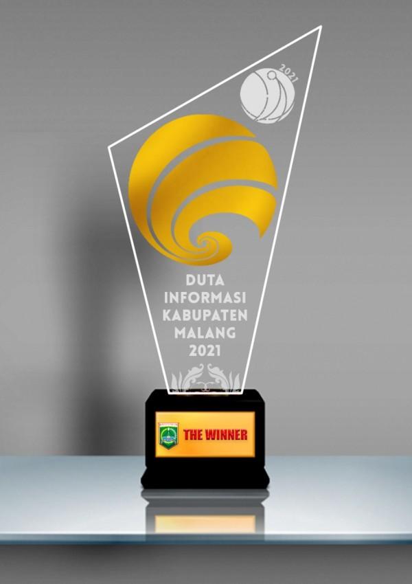 Piala Duta Informasi Kabupaten Malang (foto: Diskominfo Kabupaten Malang for MalangTIMES)