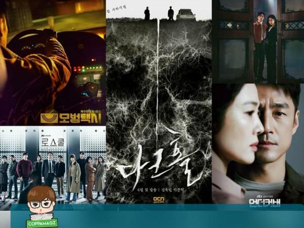 Deretan drama Korea yang tayang bulan April 2021. (Foto: Instagram @coppamagz).