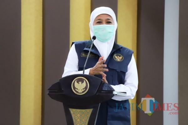 Gubernur Jatim Khofifah Indar Parawansa (Foto: Istimewa).