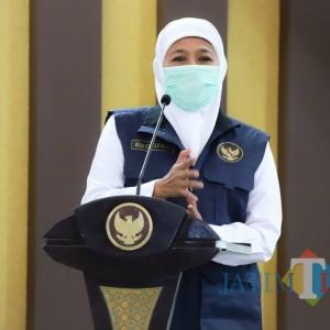 Gubernur Jatim Targetkan Vaksinasi 5 Ribu Lansia Perhari
