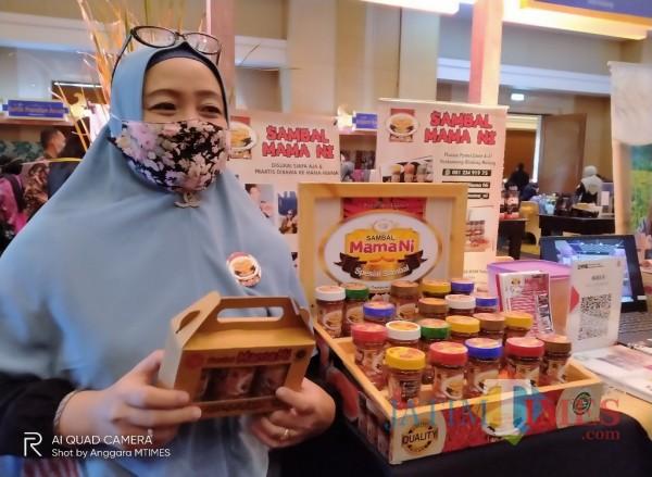 Heni Wardani, owner Sambal Mama Ni (Anggara Sudiongko/MalangTIMES)