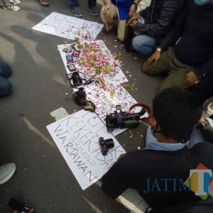 Kecam Aksi Kekerasan Terhadap Jurnalis, Organisasi Wartawan Kediri Desak Kapolri Bertindak