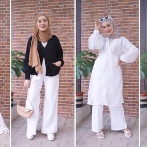 Inspirasi Pakai Outfit Warna Putih untuk Beragam Aktivitas Ala Hijabers, Bisa Dicontek Nih