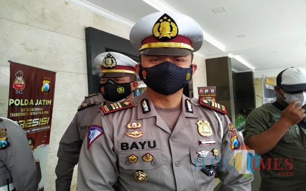 Kasat Lantas Polres Tulungagung, AKP Muhammad Bayu Agustyan / Foto :Anang Basso / Tulungagung TIMES