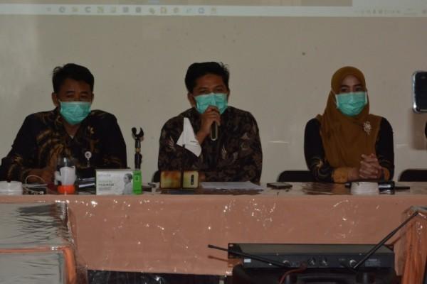 Komisi Pemilihan Umum (KPU) Kota Batu gelar rakor di Kantor KPU Batu, Senin (29/3/2021) (Foto istimewa)