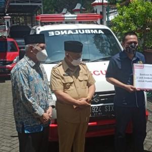 Terima Bantuan Mobil Ambulans, PWI Malang Raya Bakal Berikan Layanan Ambulans Gratis