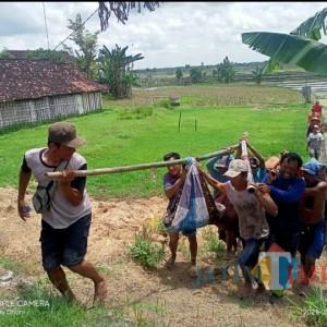 Diduga Sakit, Seorang Petani Ngawi Tewas di Tengah Sawah