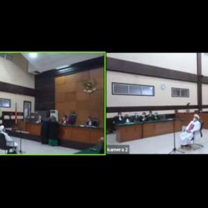 Sidang Lanjutan Habib Rizieq Diwarnai Adu Argumen soal Hadis tentang Keadilan