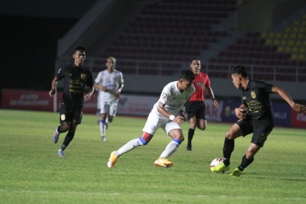 Klasemen grup A mempertemukan Arema FC melawan PSIS Semarang di Stadion Manahan, Solo, Selasa (30/3/2021) (foto istimewa)