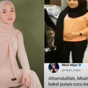 Viral Video Nissa Sabyan Elus-elus Perut, Cuitan Mbah Mijan Jadi Sorotan