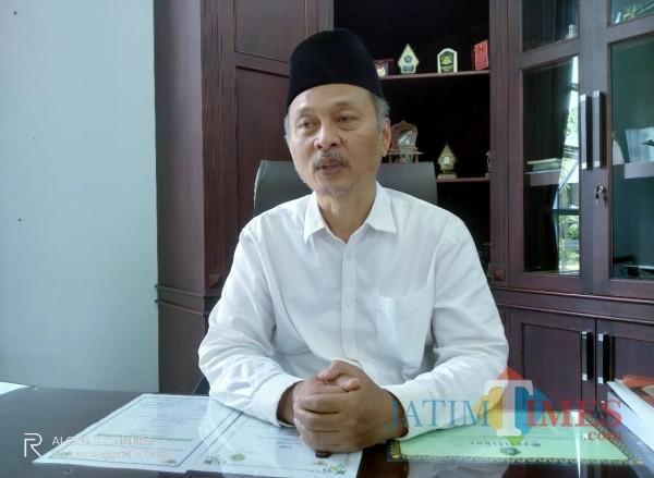 Rektor UIN Malang, Prof Abdul Haris (Anggara Sudiongko/MalangTIMES)