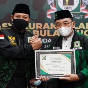 Menjadi yang Terbaik, GPK Jombang Terima Penghargaan dari Pusat