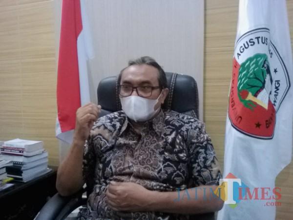 Andang Subahariyanto, Rektor Untag 45 Banyuwangi Nurhadi Banyuwangi Jatim Times