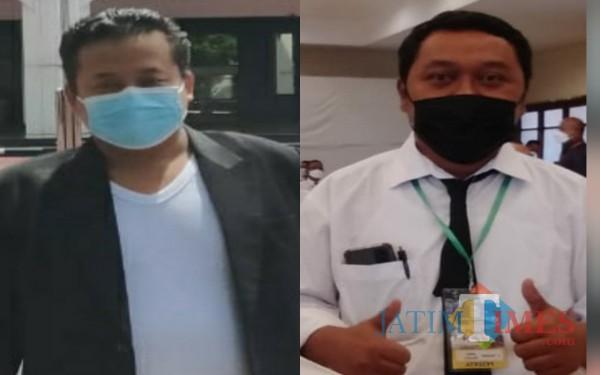 Ketua LSM Bintara Ali Sodik dan Jubir AKD M. Suhardi / Foto : Istimewa / Tulungagung TIMES