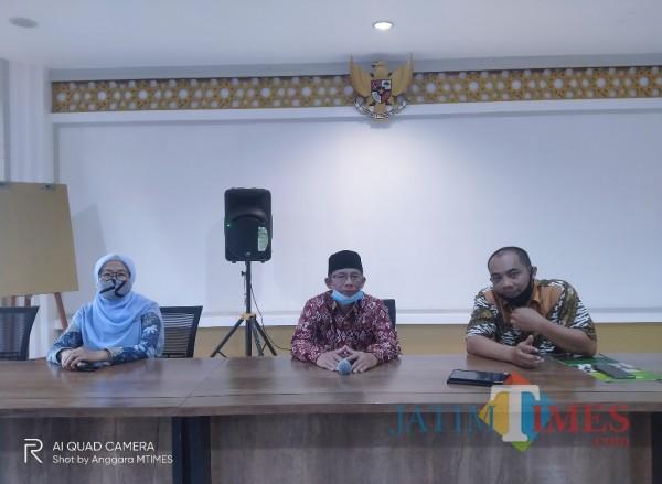 Panitia Penjaringan Bakal Calon Rektor UIN Malang periode 2021-2025 (Anggara Sudiongko/MalangTIMES)