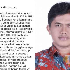 Pesan Berantai Penolakan Kenaikan NJOP Beredar di Tulungagung, Ini Komentar AKD