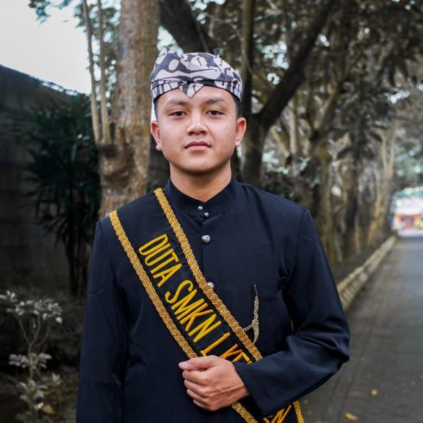 Semifinalis Duta Informasi yang digelar Diskominfo Kabupaten Malang, Akhmad Arel Geovanda (foto: istimewa)