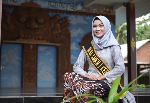 Semifinalis Duta Informasi yang digelar Diskominfo Kabupaten Malang, Ziva Hamanda (foto: istimewa)
