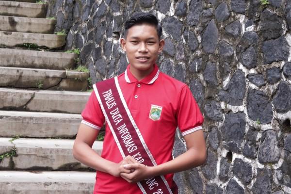 Bagus Ismanto, semifinalis Duta Informasi Kabupaten Malang. (Foto: Istimewa)