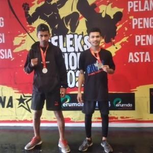 Mahasiswa Universitas Kanjuruhan Berhasil Raih Medali di Kejuaraan Tarung Bebas Nasional
