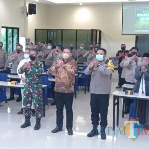 400 Tenaga Ormas Bantu Polres Malang Jaga Keamanan Hari Raya Paskah