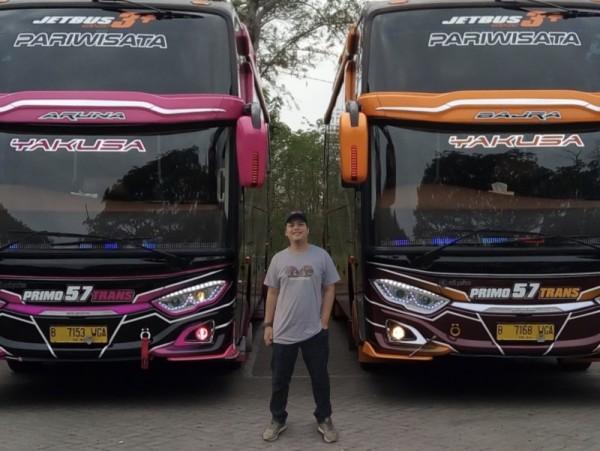 Owner PO Bus Pariwisata Primo 57 Trans, Gerry Aprilian (foto: istmewa)