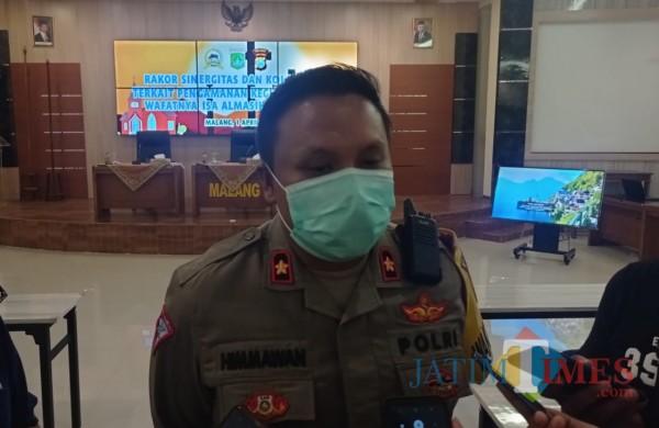 Wakapolres Malang Kompol Himawan Setiawan (foto: Hendra Saputra/MalangTIMES)