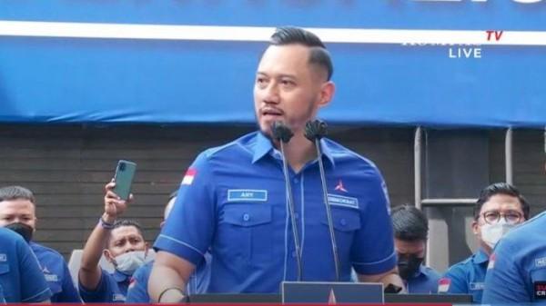 Agus Harimurti Yudhoyono (AHY) (Foto: Kompas TV)
