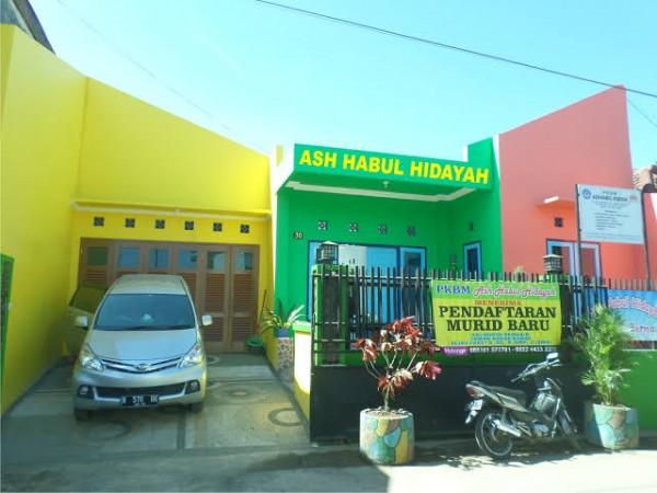 Lokasi Lembaga Ash Habul Hidayah di daerah Ciliwung Malang