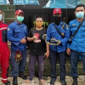 Pemadam Kebakaran Kota Malang Selamatkan Puluhan Hewan