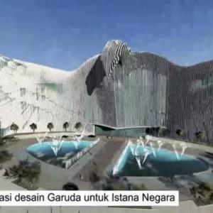 Desain Garuda Istana Negara Ibu Kota Baru Jadi Kontroversi, Ini Kata Jokowi