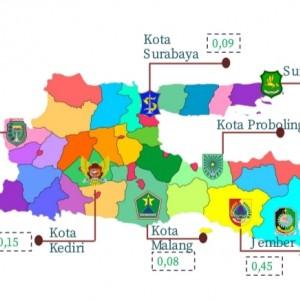 Inflasi 0,08 Persen, Kota Malang Catat Inflasi Terendah di Jatim