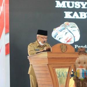 Buka Musyarawah Seniman Kabupaten Malang, Bupati: Kita Ingin Setara dengan Bali